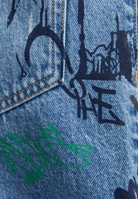 Bershka - STRAIGHT - Relaxed fit jeans - blue denim - 5