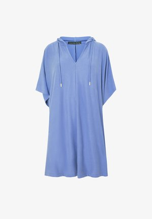 Poncho - light blue