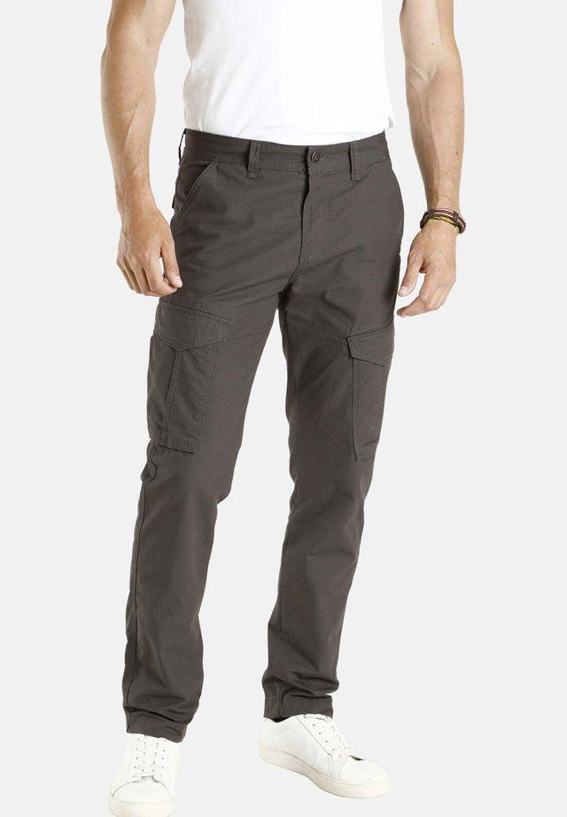 GUTTORM - Cargo trousers - grau