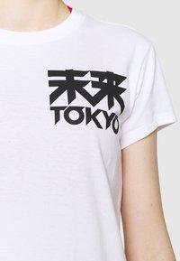ASICS - FUTURE TOKYO TEE - T-Shirt print - brilliant white - 4