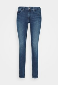 Tommy Jeans - SOPHIE ANKLE ZIP  - Jeansy Skinny Fit - jasper mid blue - 6