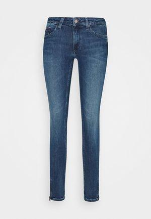 SOPHIE ANKLE ZIP  - Jeans Skinny - jasper mid blue