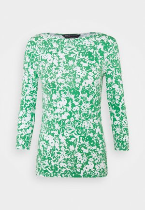 FITTED FLOR - Long sleeved top - green