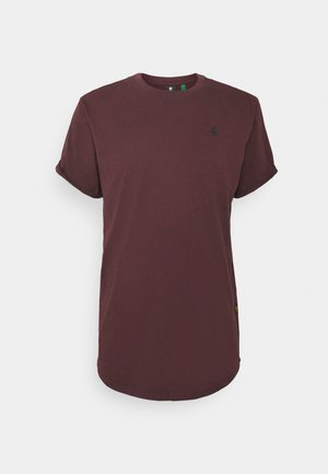 LASH R T S\S - T-shirt basic - dark fig