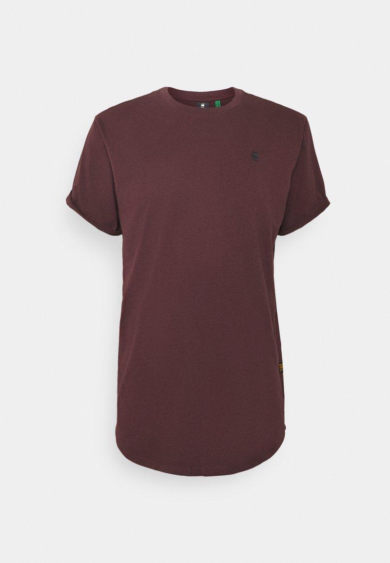 G-Star - LASH R T S\S - T-shirt basic - dark fig