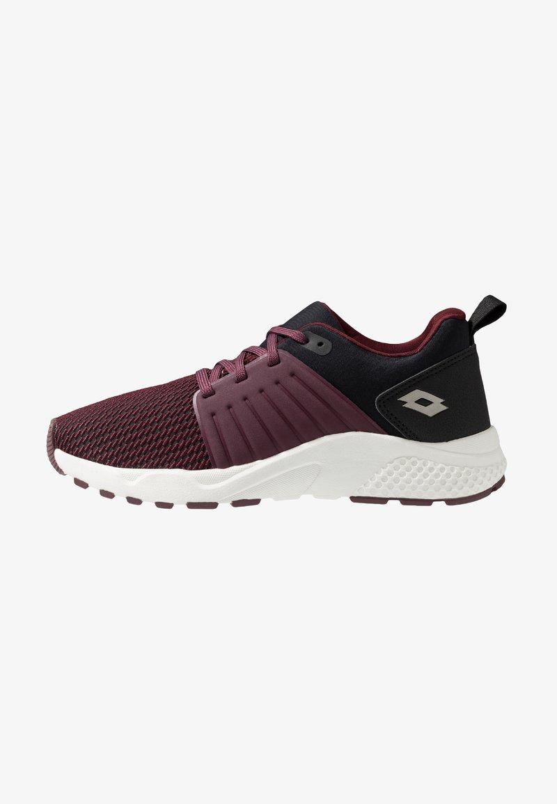 Lotto - BREEZE ULTRA - Chaussures d'entraînement et de fitness - purple saturday/gravity titan/all black