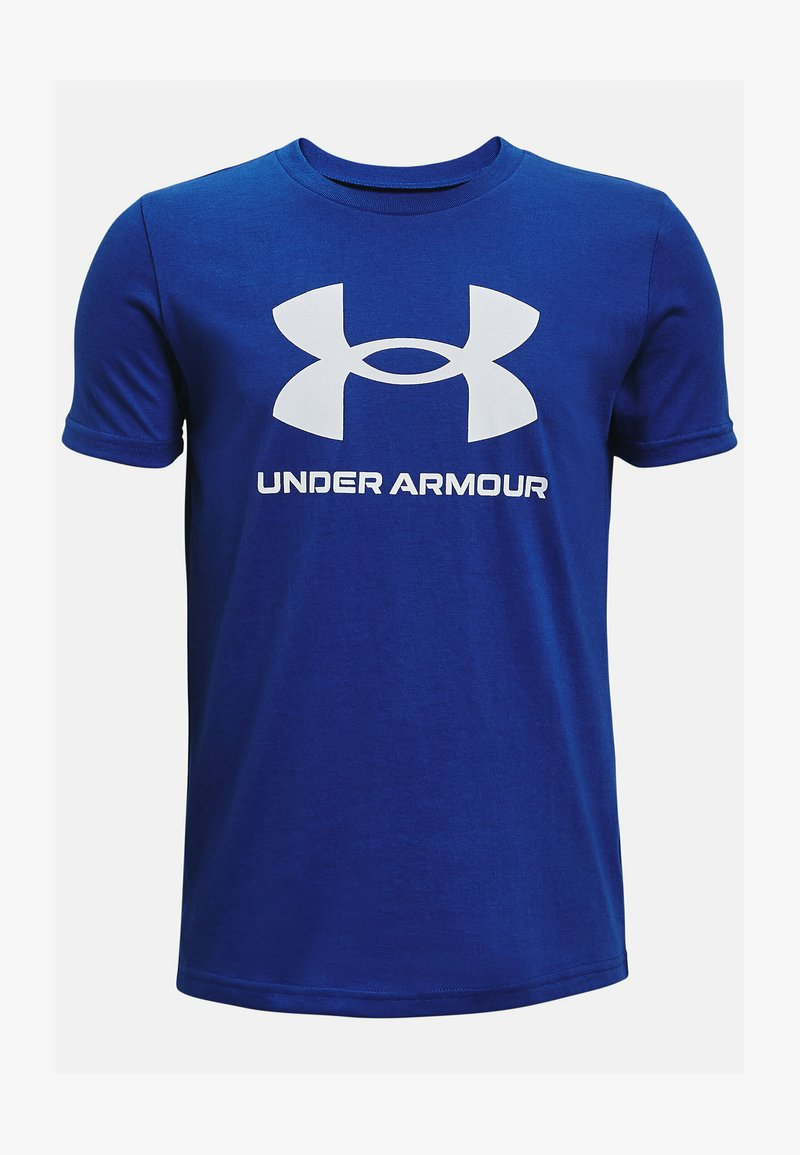 Under Armour - Print T-shirt - royal