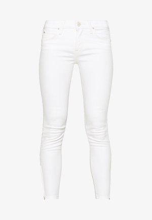 SCARLETT CROPPED - Skinny džíny - white