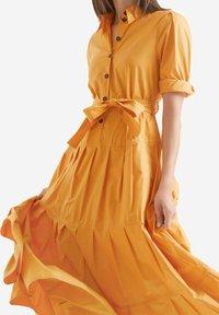 Marc Cain - Shirt dress - gelb - 2