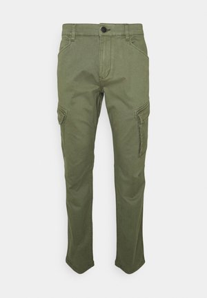 Cargo trousers - khaki green