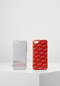 Urban Classics - PHONE CASE SET - Obal na telefon - white/red - 0