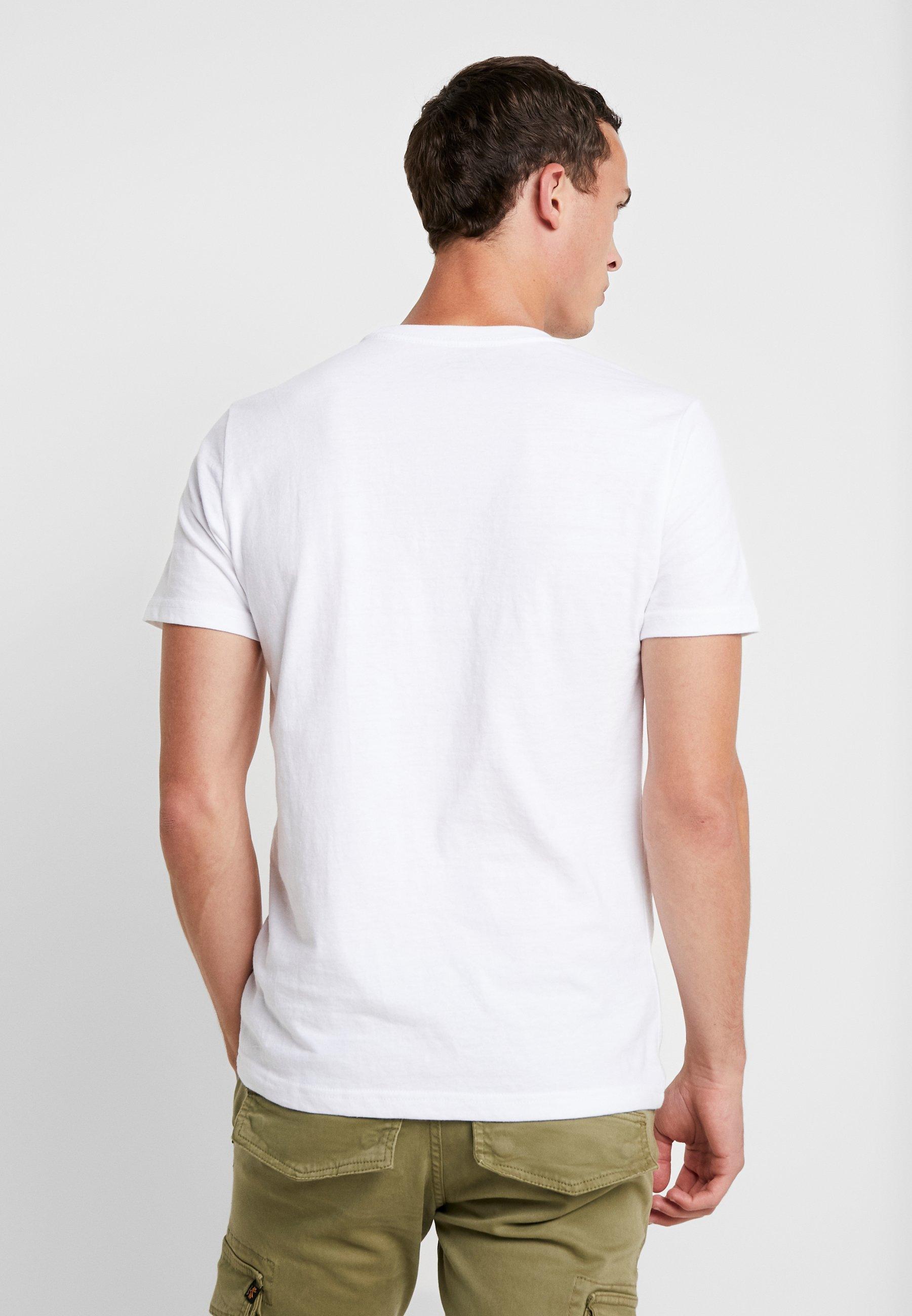 IZOD CHEST LOGO BASIC TEE  - Basic T-shirt - white 9sv1A
