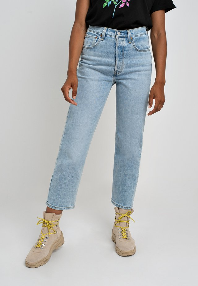 RIBCAGE STRAIGHT ANKLE - Jeans a sigaretta - tango light