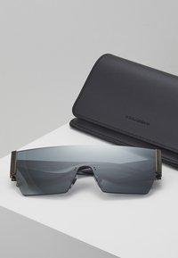 Dolce&Gabbana - Occhiali da sole - dark gunmeal - 2