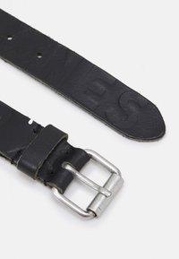 Jack & Jones - JACPORTO LOGO BELT - Belt - black - 1