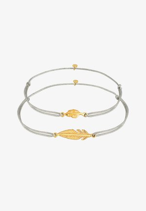 FEATHER 2 PACK - Armband - gold