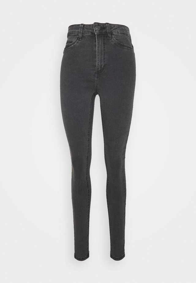 NMCALLIE - Jeans Skinny Fit - dark grey denim