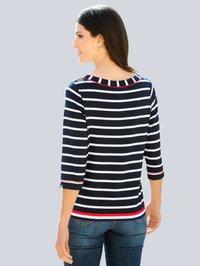 Alba Moda - Long sleeved top - marineblau,weiß,rot - 2