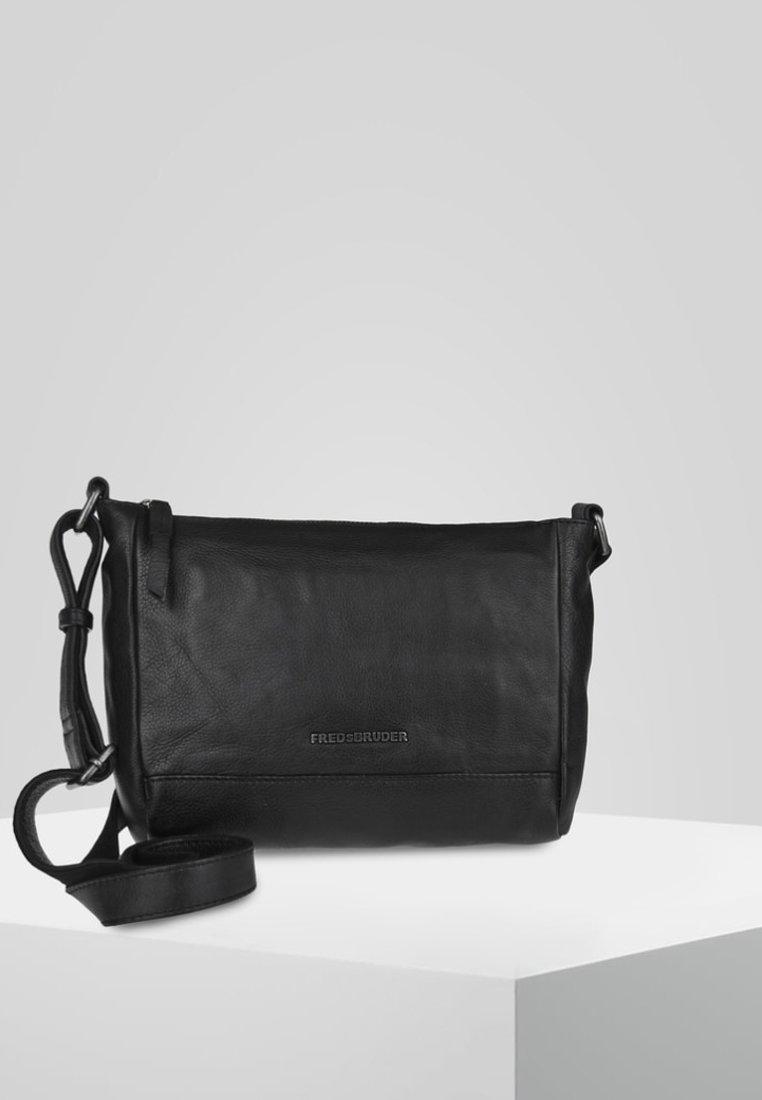 FREDsBRUDER - EASY PEASY - Across body bag - black
