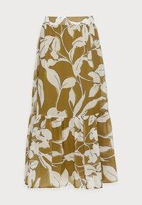 SKIRT - A-line skirt - olive