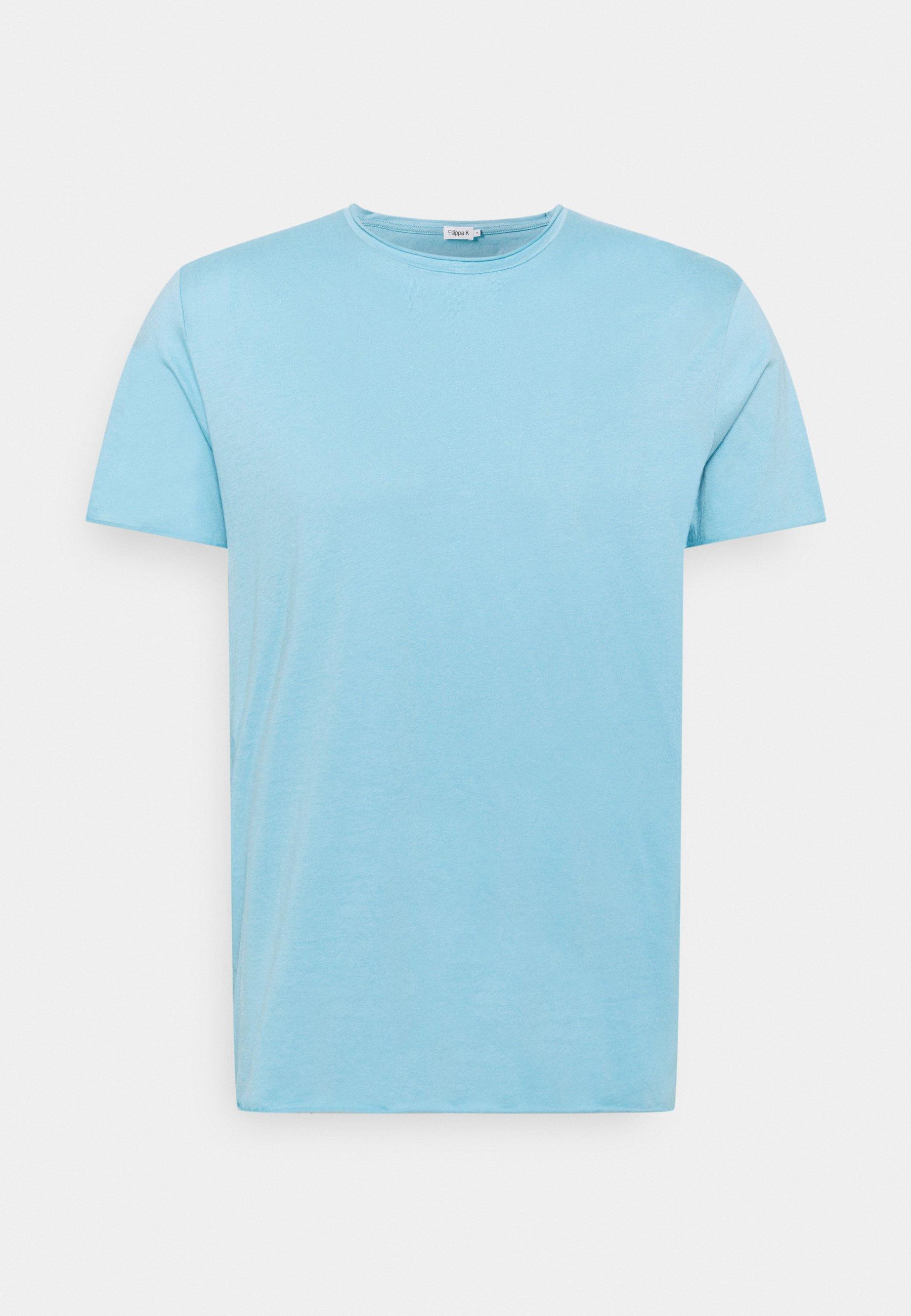 Men ROLL NECK TEE - Basic T-shirt