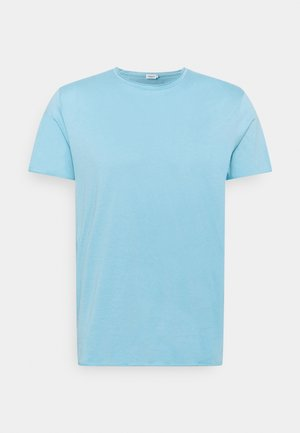 ROLL NECK TEE - T-Shirt basic - turquoise