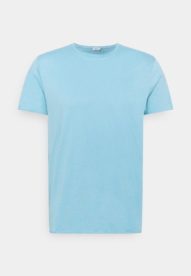 ROLL NECK TEE - Jednoduché triko - turquoise
