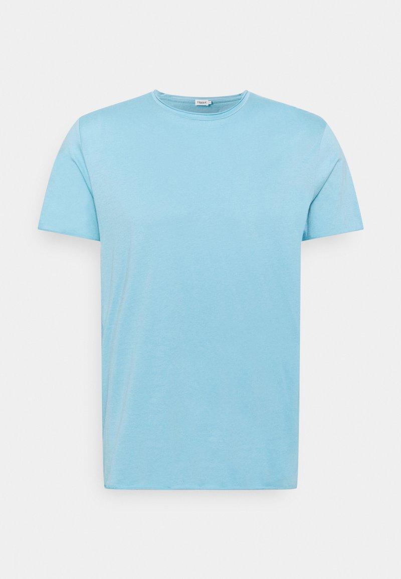 Filippa K - ROLL NECK TEE - Jednoduché triko - turquoise