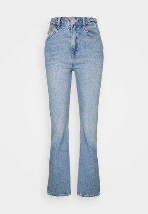 VINTAGE DISTRESSED FLARE - Flared Jeans - blue denim