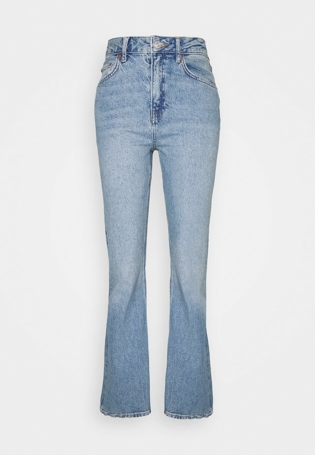 VINTAGE DISTRESSED FLARE - Jeans a zampa - blue denim