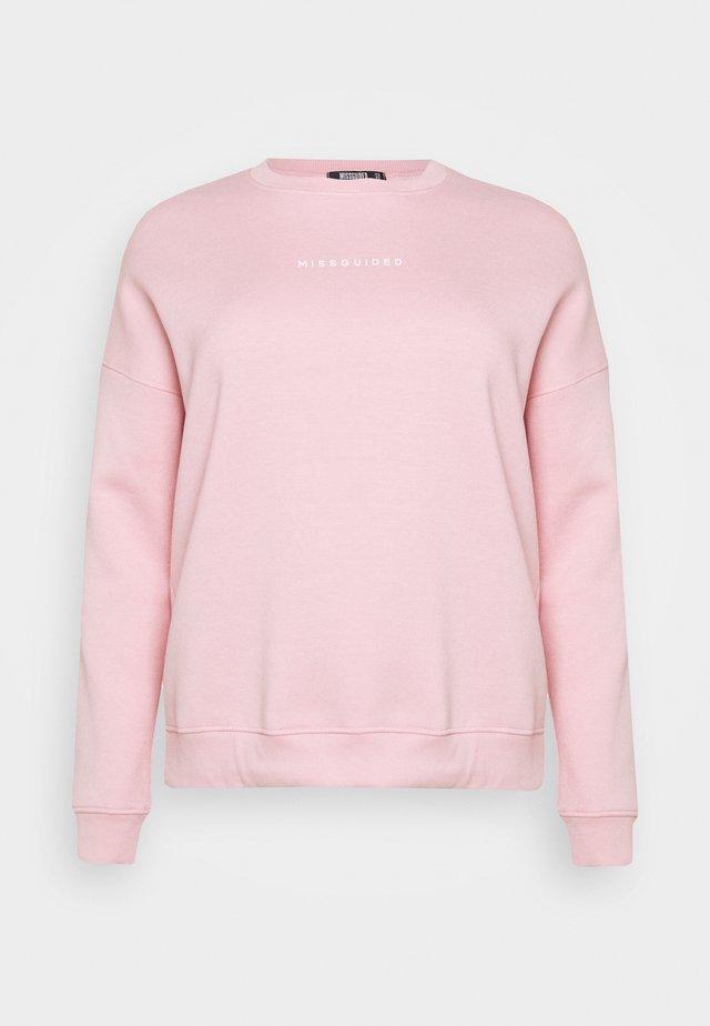 OVERSIZED - Sweatshirt - pink