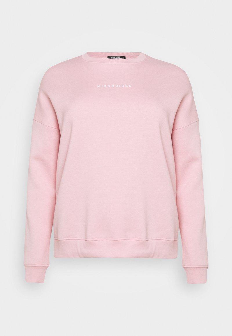 Missguided Plus - OVERSIZED - Felpa - pink
