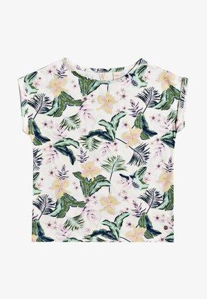 AFRICAN SUNSET - Print T-shirt - snow white rg praslin