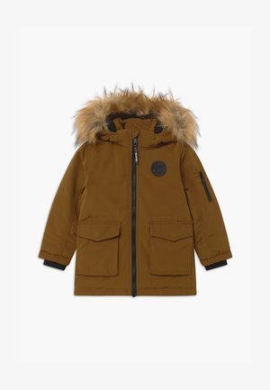 KID - Winter coat - dark camel