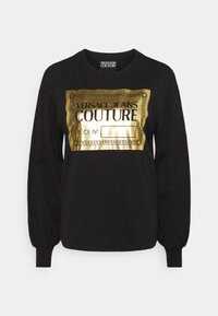 Versace Jeans Couture - Long sleeved top - black/gold - 4
