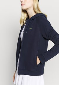 Lacoste Sport - Zip-up hoodie - navy blue - 4