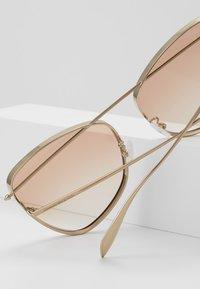 Alexander McQueen - Sunglasses - gold/orange - 3