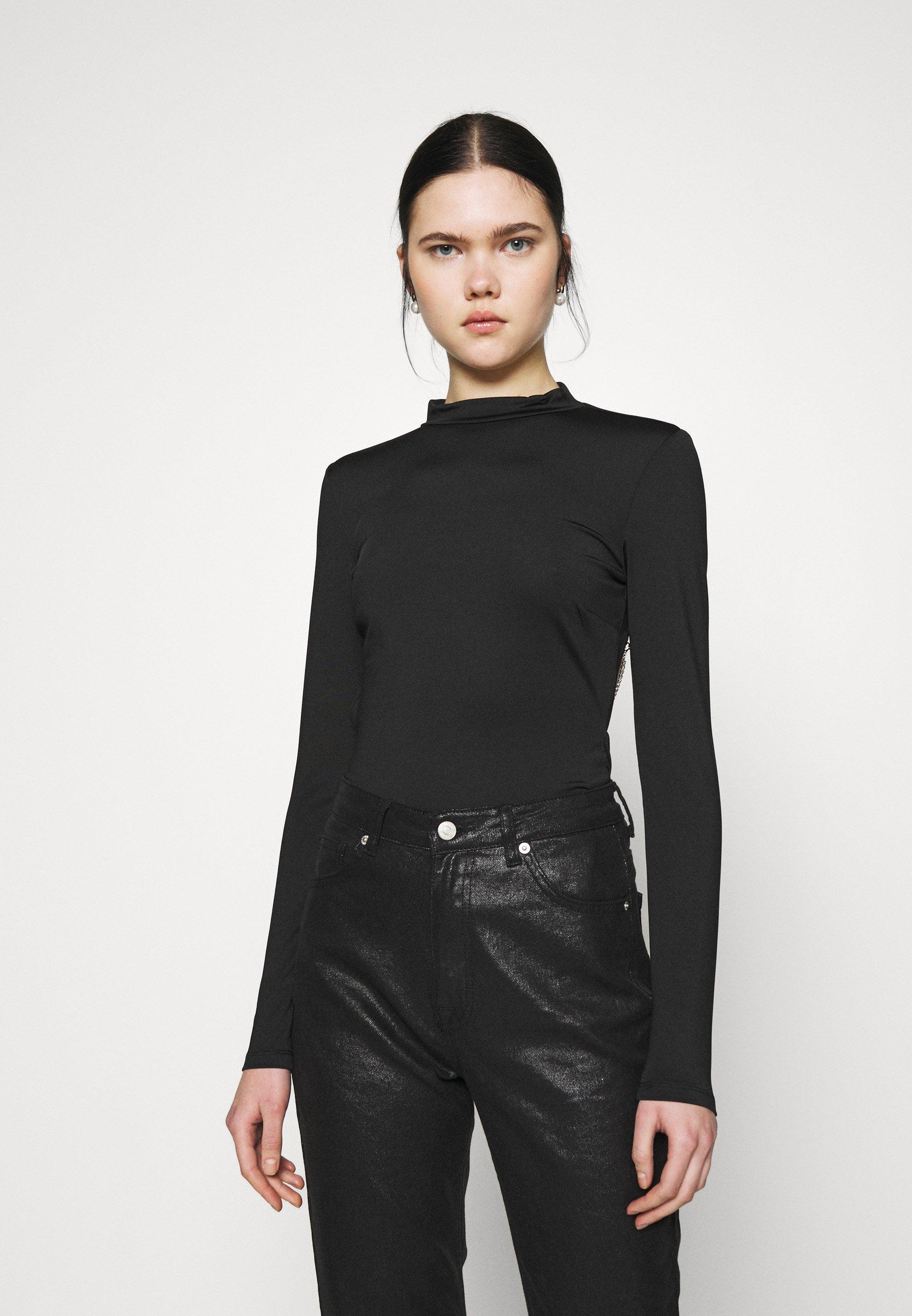 Women CHAIN BACK - Long sleeved top