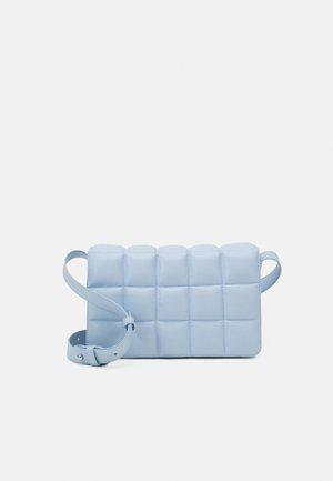 BOBBIE BAG - Across body bag - blue dusty light