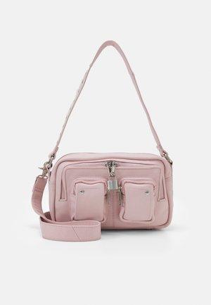 ELLIE SMOOTH - Taška spříčným popruhem - pink