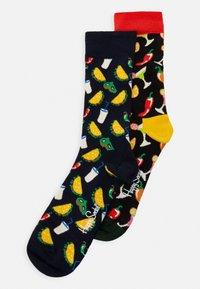 Happy Socks - TACO SOCKS GIFT SET 2 PACK - Socks - dark blue - 0