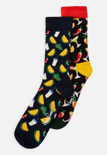 TACO SOCKS GIFT SET 2 PACK - Socks - dark blue