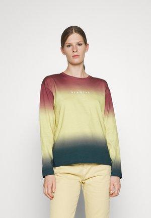 MAINTAIN DIP DYE  - Print T-shirt - pineapple