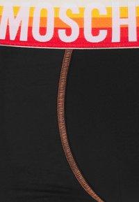 Moschino Underwear - TRUNK - Underbukse - black/orange - 2
