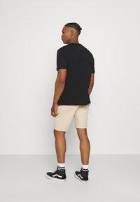 YOURTURN - 2 PACK UNISEX - T-shirt basic - black/green - 2