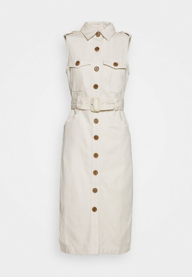 BAHIA DRESS - Shirt dress - transition cream