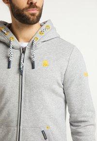 Schmuddelwedda - Zip-up hoodie - hellgrau melange - 3