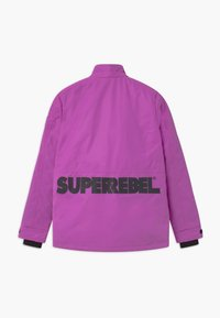 SuperRebel - TECHNICAL REFLECTIVE UNISEX - Snowboard jacket - purple - 2