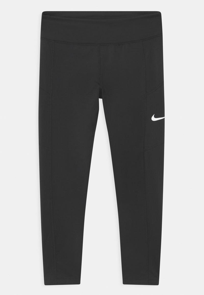 Nike Performance - TROPHY - Legging - black/white