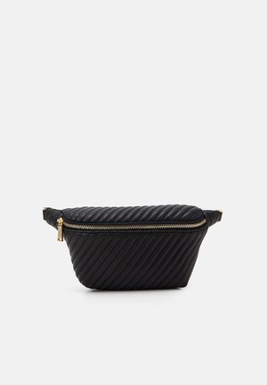 BELT BAG KIDNEY - Ledvinka - black
